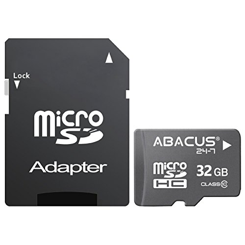 Abacus24 7 32 Gb Micro Sd Memory Card With Adapter For Zte Maven 2