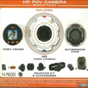 Action-Shot-HD-POV-Camera-Bonus-Pack-Includes-HD-Video-Camera-Viewer-Case-Memory-Card-and-Mounting-Kit-0-0