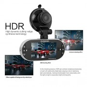 Dash-Cam-AUSDOM-Car-Dash-Cam-DVR-AD260-27-LCD-Display-Road-Camcorder-Color-40MP-CMOS-Sensor-f20-Aperture-Motion-Detection-Parking-Monitor-Full-HD-Resolution-1920-x-1080px-0-3