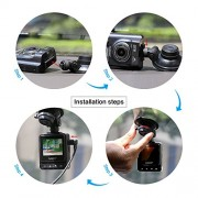 Dash-Cam-Ausdom-A261-HD-Car-Dash-Cam-DVR-with-GPS-and-2-Inch-View-screen-Auto-Dashboard-Video-Camera-Recorder-Vehicle-Camcorder-Type-Black-box-with-G-Sensor-for-Auto-Recording-0-2