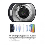 Dash-Cam-Ausdom-Car-Dash-Cam-DVR-AD170-Color-20MP-CMOS-Sensor-1080P-Full-HD-Resolution-Multiple-Viewing-Angles-85110-Auto-Record-Motion-Detection-Supports-Loop-Cycle-Recording-Aperture-of-f24-0-2