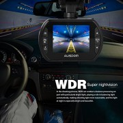 Dash-Cam-Ausdom-Car-Dash-Cam-DVR-AD170-Color-20MP-CMOS-Sensor-1080P-Full-HD-Resolution-Multiple-Viewing-Angles-85110-Auto-Record-Motion-Detection-Supports-Loop-Cycle-Recording-Aperture-of-f24-0-4