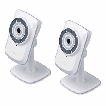 2-Pack-D-Link-DCS-932L-Wireless-DayNight-Cloud-Network-Camera-w-Remote-Viewing-0