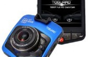 Blue TOGUARD 2.46″ LCD Full HD 1080P Dashcam Car Dvr Camera,Novatek NT96220,G-sensor,Parking Monitor,Motion Detection,Loop Recording,Night Vision