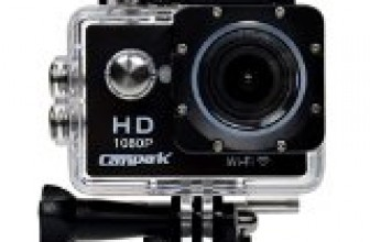 Campark® 2″ LCD WIFI 1080P Waterproof 30M H.264 Full HD Action Camera, 2pcs Batteries with Free Battery Charger