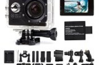 Tekcam Original SJ7000 WIFI 2.0inch 14MP FHD Sports Action Camera waterproof with 2 Improved Batteries and free Accessories (Black)