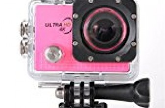 Lolipp Pro5000 1080P HD Wide-angle Waterproof Action Camera Kit with Wifi and Battery Red