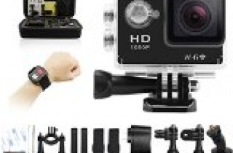 Geekpro Camera Review : Geekpro sport action camera inch sports video wifi cam mp