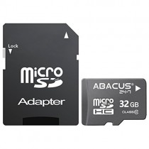 Abacus24-7 32 GB micro SD Memory Card with Adapter for ZTE Maven 2, Warp 7, Warp Elite, ZMAX Pro, ZMax 2, Blade, Maven, Sonata 3, Axon 7, Blade G Lux, Obsidian