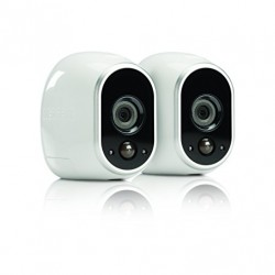 Arlo Security System – 2 Wire-Free HD Cameras, Indoor/Outdoor, Night Vision (VMS3230)