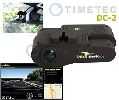 Car-Black-Box-Timetec-Road-Hawk-DC-2-1080P-HD-Car-Vehicle-Road-Traffic-AccidentIncident-Dash-Windshield-Dashboard-Video-Audio-Camera-Recorder-Camcorder-DVR-System-Black-Box-Built-in-Microphone-GPS-G-G-0