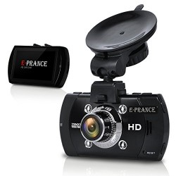 E-PRANCE B47FS HD 1296P Car DVR with GPS Logger WDR Night Vison 170 Degree Ultra Wide Angle G-Sensor