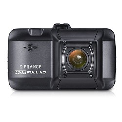 Full HD Dash Cam, E-PRANCE D101 1296P Car DVR Dashboard Camera with 170 Wide Angle Lens Night Vison G-Sensor