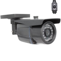 GW Security Professional 900TVL Cmos with IR-Cut Outdoor Security Camera – 900 TV Lines, 3.6mm Wide Angle Lens