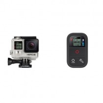 GoPro HERO4 BLACK 4K Action Camera + GoPro Smart Remote