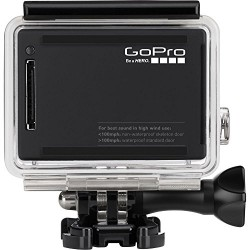 GoPro Hero4 Hero 4 12MP Full HD 4K 30fps 1080p 120fps Built-In Wi-Fi Waterproof Wearable Camera Black Adventure Edition (GoPro Dual Charger + GoPro Battery + 8GB)