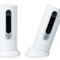 IZON WRM-WA4-00 Stem Double Wi-Fi Video Monitor Surveillance for iOS 5.0+ & Android 4.2+ (White)