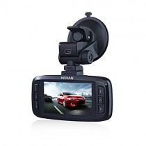 KEHAN KH821-30V Full HD 19201080 Car DVR Dash Cam Dashboard Camcorder Black Box 170° Wide Viewing Angle 2.7″ Screen Ambarella A7 with G-Sensor HDR Night Vision Motion Detection 6-Glass Lens