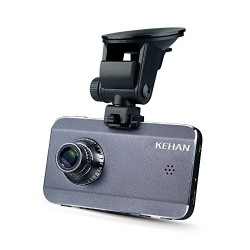 KEHAN KH903-50V 3.0″ Super HD 2560×1080 2304×1296 Car Dash Cam 170°Viewing Angle Ambarella A7 with G-Sensor Night Vision Motion Detection 16GB Memory Card