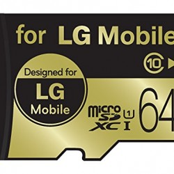 LG Mobile 64GB MicroSDXC Micro SD High Performance UHS-1/Class 10 Micro SD Micro SDXC up to 50MB/s Memory Card