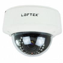 LOFTEK® Venus-7H 1/3″ Sony 700TVL Lines (High Qaulity Chip, is equal to 1200TVL) Waterproof Outdoor Surveillance CCTV Camera Color CCD Day Night Vision Security Bullet Dome Camera and 30 Infrared LEDs with 3x Optical Zoom