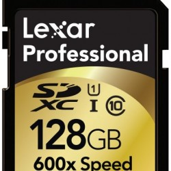 Lexar Professional 600x 128GB SDXC UHS-I Flash Memory Card LSD128CRBNA6002 – 2 Pack