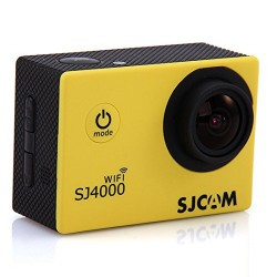 MeGooDo SJ4000 WiFi 1080P 12 Mega Pixels 1.5 Inch 170° Wide Angle Lens Outdoor Waterproof Sports Home Security HD DV/CAR DVR/Camera (Wifi_Yellow)