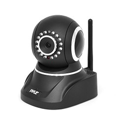 HD 720p Indoor Wifi Security IP Camera for Wireless Home Surveillance Video  Monitoring – Features PTZ, Motion Detection, Night Vision, 2 Way Audio – Pyle PIPCAM8