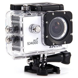 SJCAM Original SJ4000 WiFi Action Camera 12MP 1080P H.264 1.5 Inch 170 degree Wide Angle Lens Waterproof Diving HD Camcorder Car DVR (White)