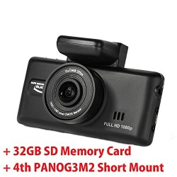 Street Guardian SGZC12SG (64GB) – 2016 v2 Pro Edition – (GPS) – DELUXE KIT (64GB SD Memory Card / New Screw On CPL Filter & Special Mounts) DashCam with Updated 2015 Sony Exmor IMX322 CMOS Sensor OTG Android Compatible via included reader