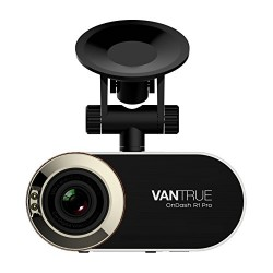 Vantrue R1 Pro Dash Cam 1296P HD Car Dashboard Camera 170° Wide Angle Video Recorder with 2.7″ LCD, G-Sensor, Night Vision, Motion Detection & Parking Monitor (Metal Housing)