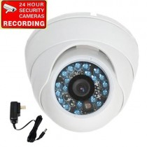 VideoSecu Dome Security Camera 600TVL Built-in 1/3″ SONY CCD Outdoor Day Night Vision Vandal Proof IR Infrared 3.6mm Wide Angle Lens for Home CCTV DVR Surveillance System with Power Supply 1Z2