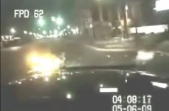 Motorcycle Hits Police Car And Cops Taser 72-Year-Old Grandmother