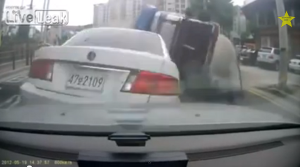 Cement Truck Plows Through Cars And Head On Collision